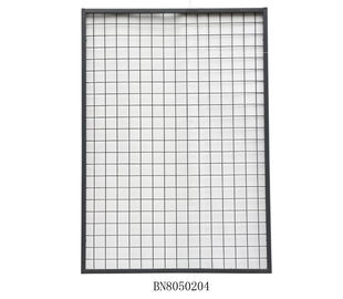 China Warehouse Steel Mesh Pallet Rack Back Guard 2 Inch X 2 Inch 1125mm Wide 700mm High factory