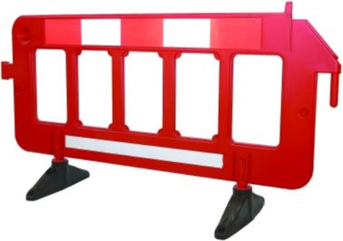 Light Weight Portable Safety Barriers , Expandable Foldable Safety Barriers