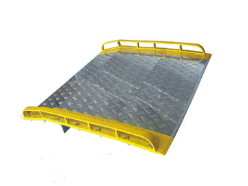 Whole Steel Dock Board And Steel Curbs 6 Feet Long 4 Feet Wide 10000 Lbs Capacity