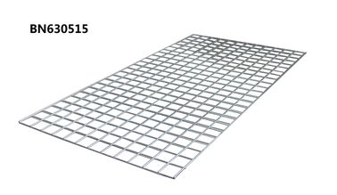 China Galvanized 4 Ga Steel Wire Mesh Decking For Pallet Racking 60 X 36 Inch Silver Color factory
