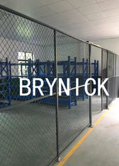 China High Visible Wire Partitions & Security Cages , Metal Cage Storage Lockers 20' *15' *10' factory