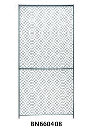 China Industrial 8x4 Wire Mesh Partition Panels Powder Coated Assembled factory