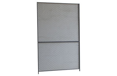China Interior Fitting Steel Wire Mesh Partition Panels Horizontal Frames High Strength factory