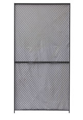 China Security Woven Wire Mesh Partition Panels 10 Gauge Clinched 8 Feet High 5 Feet Width factory