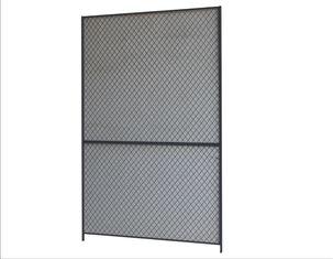 China 10 Gauge 10x4 Wire Mesh Partition Panels For Commercial Storage Facilities factory