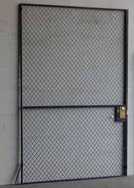 China Single Hinged Wire Mesh Security Door, Wire Mesh Hinged Door Erosion Resistant factory