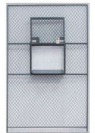 China Sliding Service Security Wire Mesh Window Guard , Wire Mesh Security Panels For Windows factory