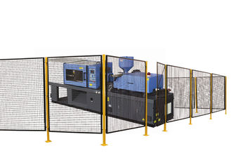 China Hygienic Screening Steel Wire Mesh Machine Guarding Systems 8 *5 Feet P/C Finished factory