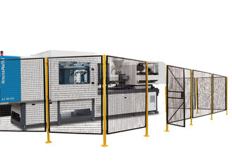 China Outdoor Wire Mesh Machine Guarding For Humidity And Airborne Pollution Protector factory