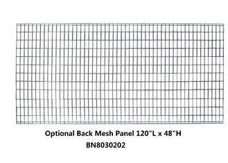 120 *48 Inch  Pallet Rack Guards , Heavy Duty Wire Mesh Panels For Cages