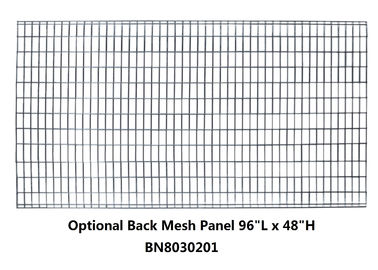 Optional Steel Back Welded Wire Mesh Panels , Security Mesh Panels Anticorrosive