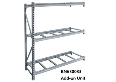 "China Stand Alone Heavy Duty Steel Storage Racks Warehouse Steel Shelving 60"" *36"" *72"" factory"