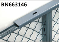 2 Inch Steel Channel Long Top Capping For Industrial Mesh Partitioning 2 Inch Width supplier