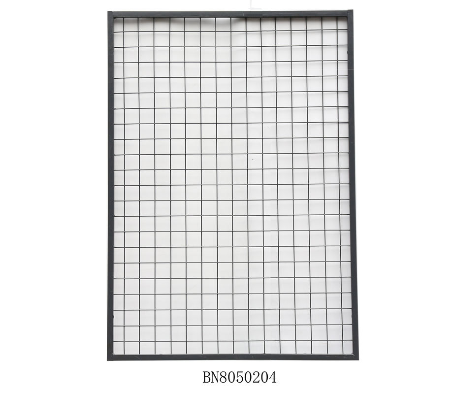 Warehouse Steel Mesh Pallet Rack Back Guard 2 Inch X 2 Inch 1125mm Wide 700mm High supplier