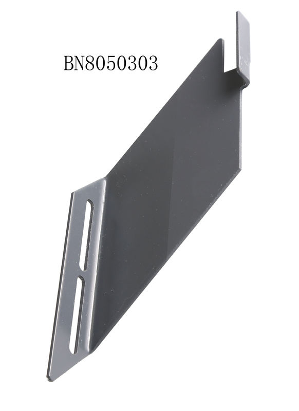 Punched 3mm Thickness Steel Plate Bracket 50mm Depth Pallet Racking Components supplier