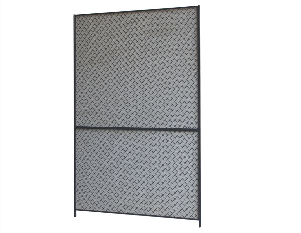 10 Gauge 10x4 Wire Mesh Partition Panels For Commercial Storage Facilities supplier