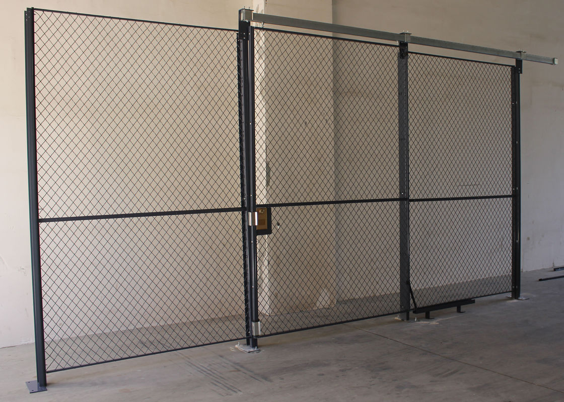 High Performance Wire Mesh Partition Panels Sliding Wire Mesh Sliding Door supplier