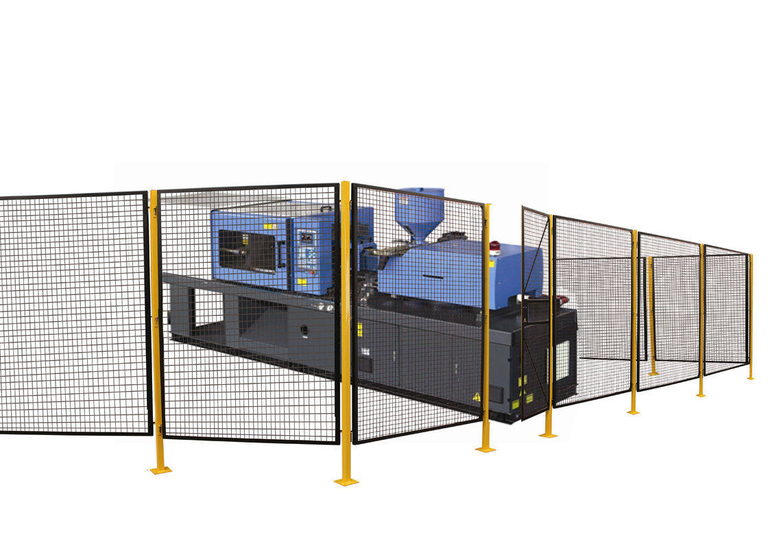 Hygienic Screening Steel Wire Mesh Machine Guarding Systems 8 *5 Feet P/C Finished supplier