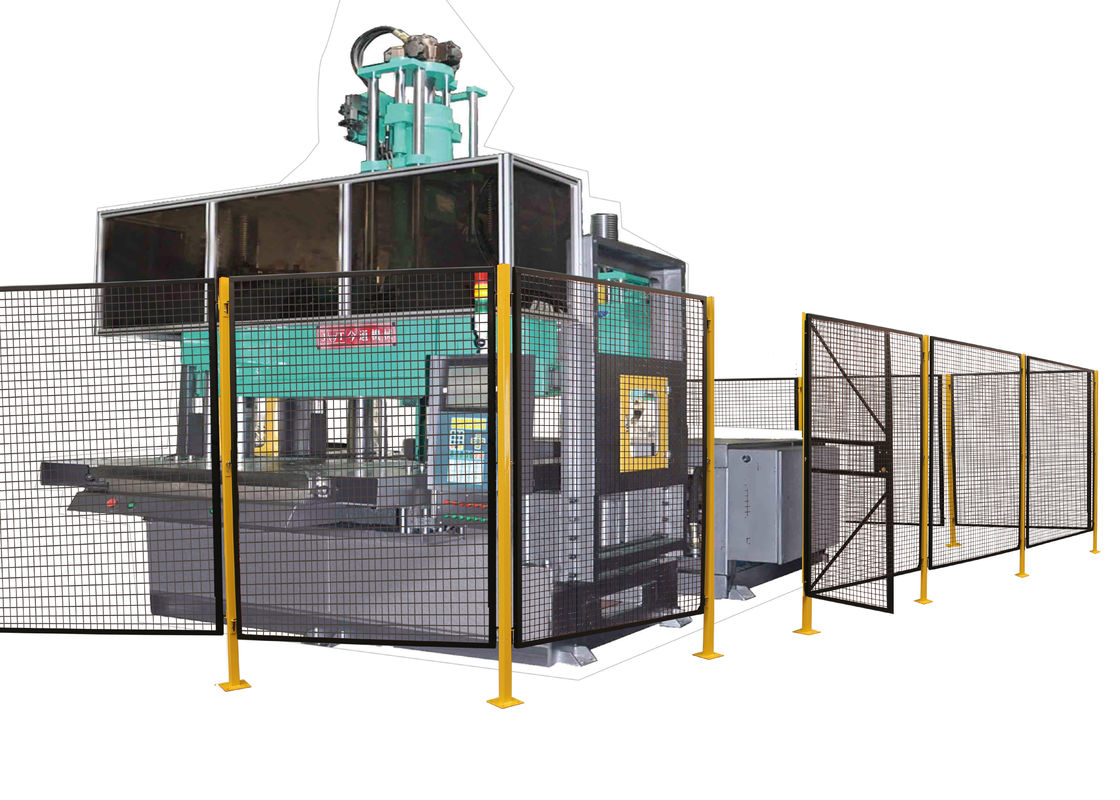 Powder Coated Wire Mesh Machine Guarding With 1 ½ X 1 ½ Inch Wire Mesh Grid supplier