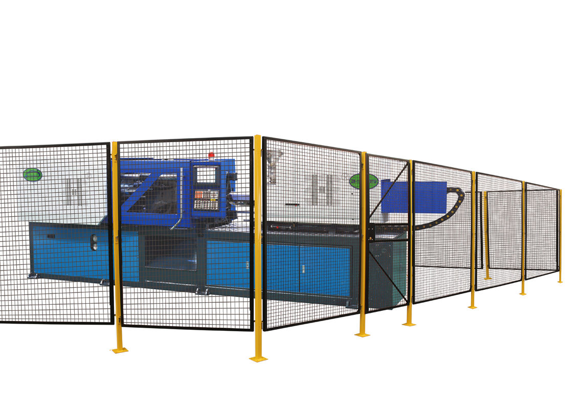 Modular Machine Guarding Panels , Steel Welded Wire Mesh Panel 5 ...