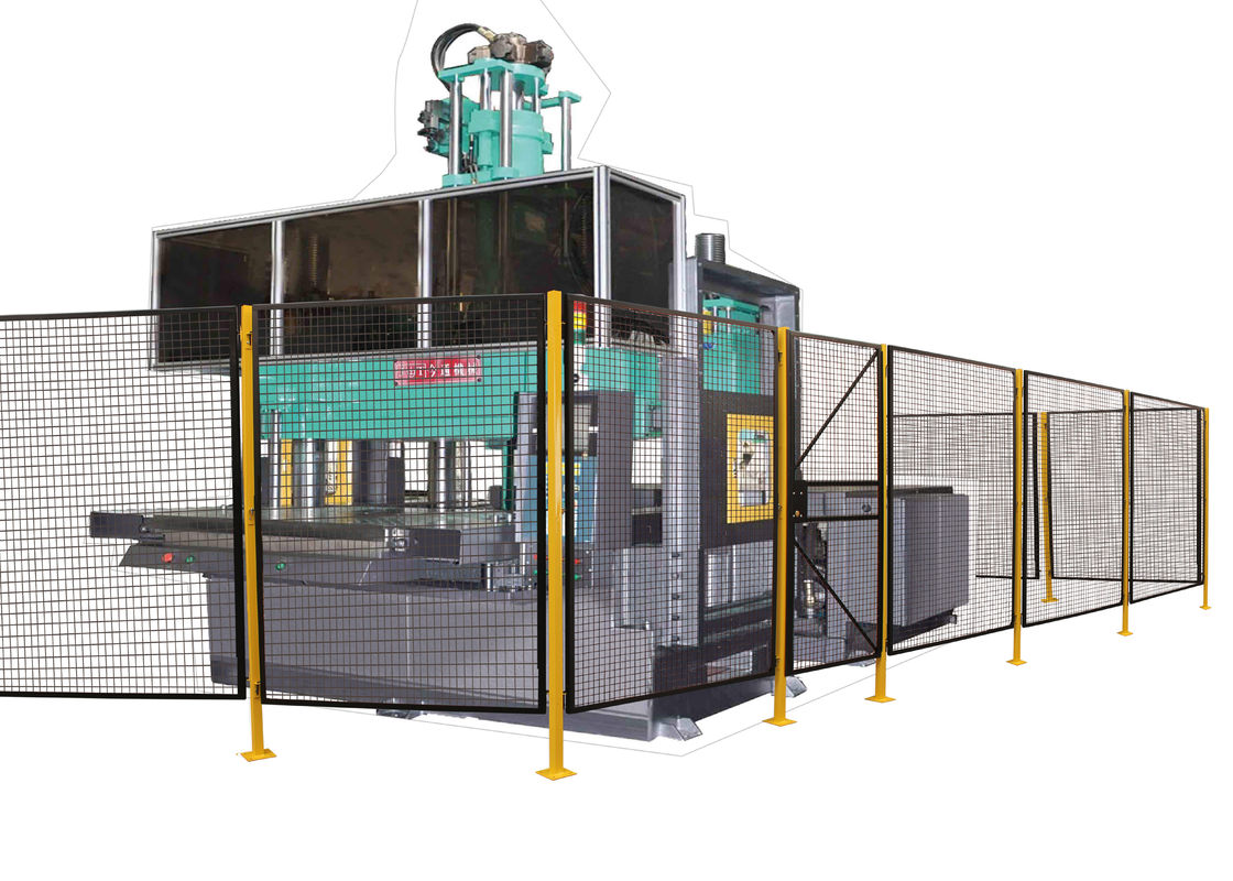 Automated Warehouse Wire Mesh Machine Guarding Systems Powder Coated 51 Lbs supplier