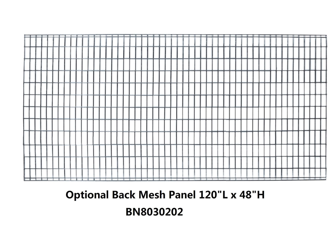 120 *48 Inch  Pallet Rack Guards , Heavy Duty Wire Mesh Panels For Cages supplier