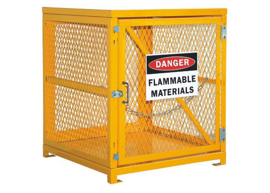 "Desk Top Half Height  Propane Tank Safety Cage , Gas Bottle Enclosure 31"" W X 30"" D X 35"" H supplier"
