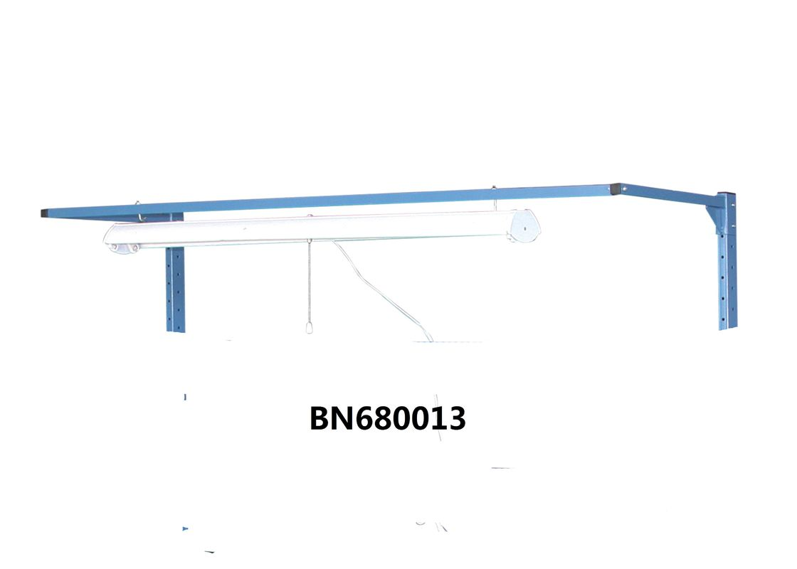 "Powder Coating Industrial Work Benches Lamp Hold Without Fluorescent Light 48"" supplier"