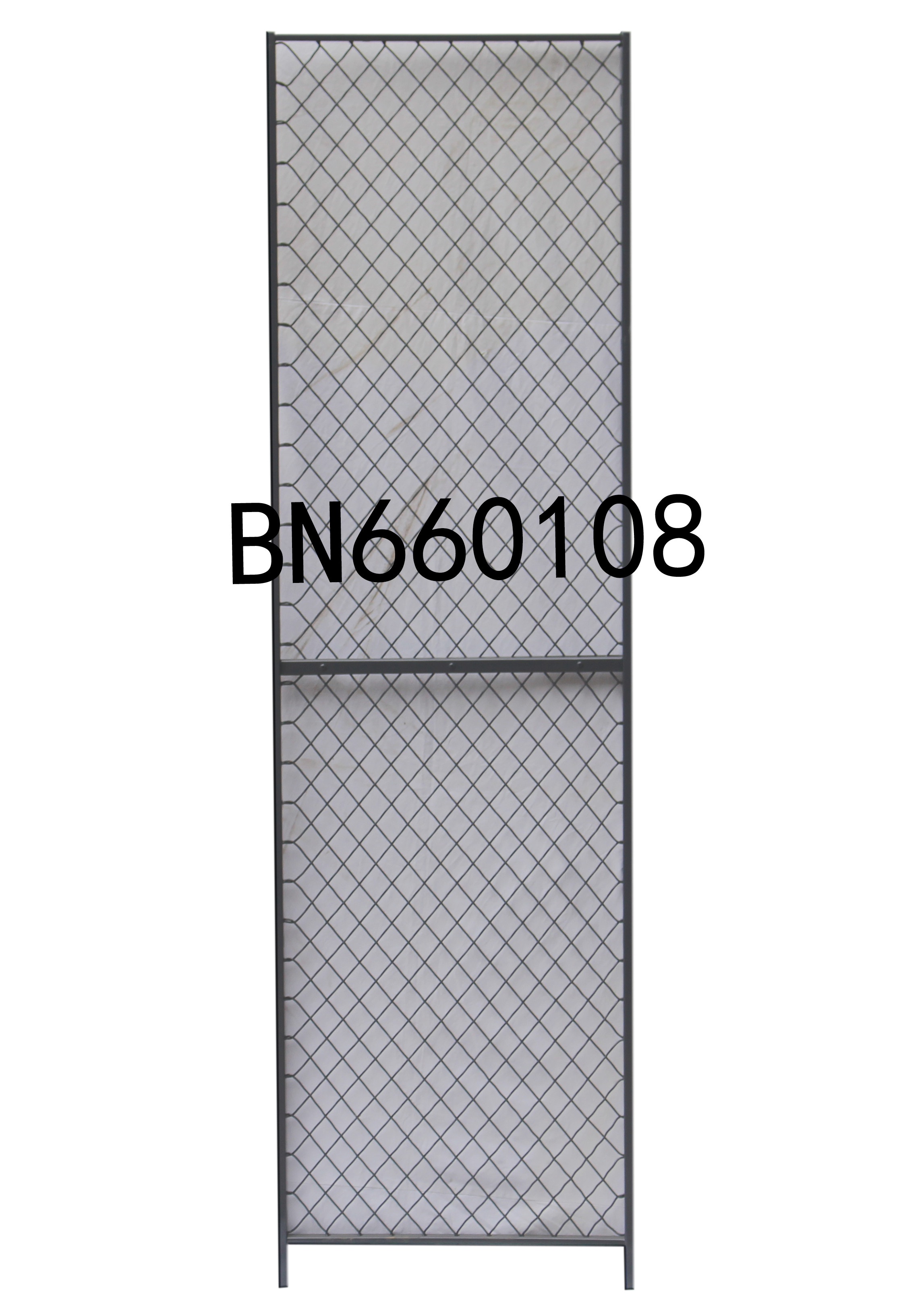 8\' High X 1\' Wide Steel Mesh Partitioning Woven Wire Mesh Panels ...