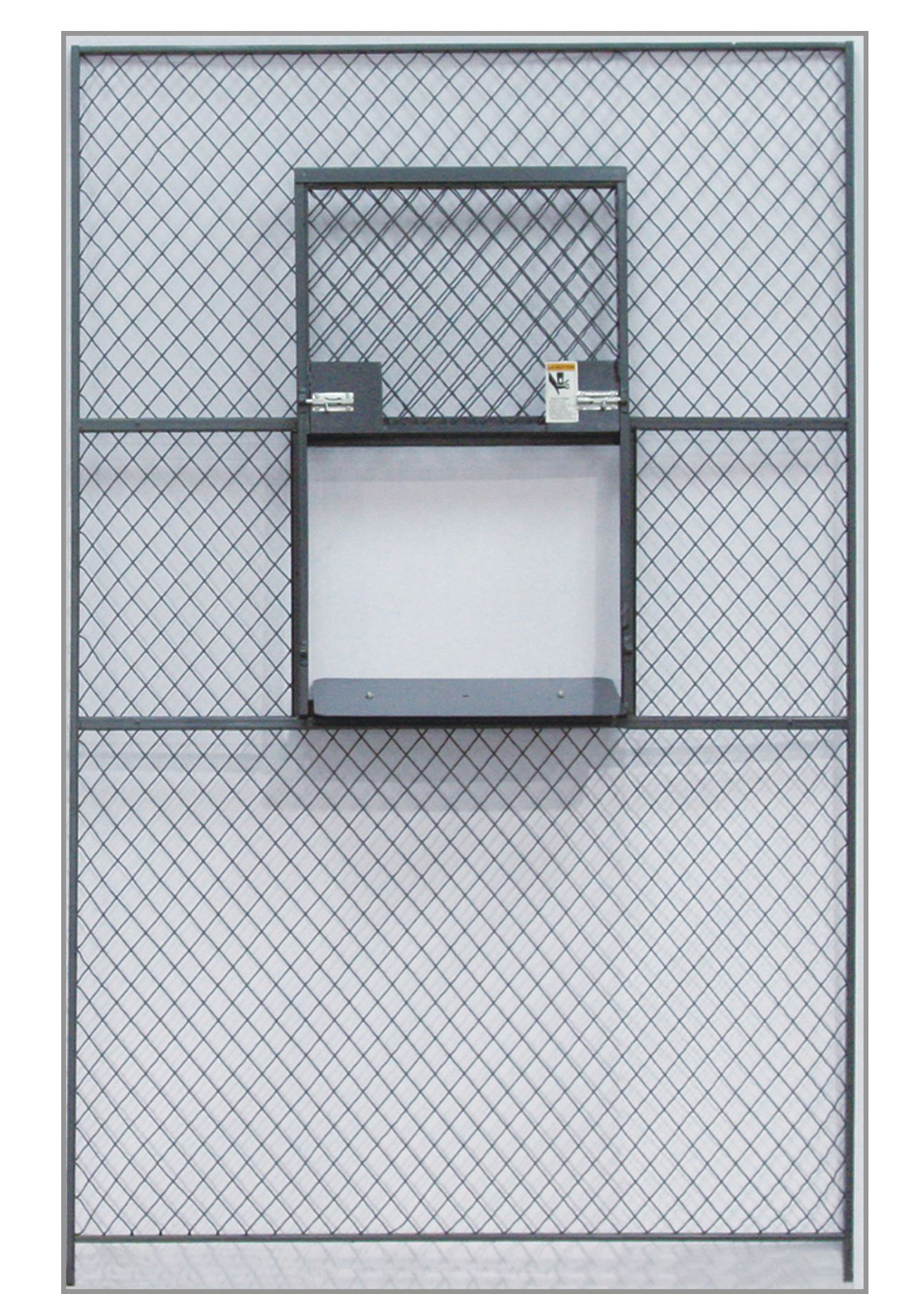 Sliding Service Security Wire Mesh Window Guard , Wire Mesh Security ...